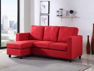 Christmas Sale! Fabric & Leather Sectional Sofas Stocked in Canada Starting at $599.99
