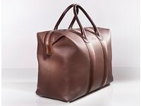 RARE OPPORTUNITY High end luxury leather weekend bag