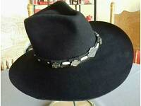 Harley Davidson western style hat