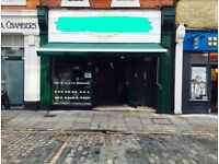 BUSY CAFE FOR SALE - CENTRAL LONDON