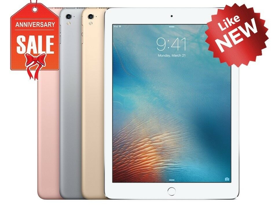 "NEW Apple iPad Pro 9.7"" Wifi + Unlocked, Gray Silver Gold Rose 32GB 128GB 256GB"
