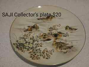 SAJI collector's plate Cowell Franklin Harbour Preview
