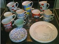 Cups, Mugs, Plates assorted box