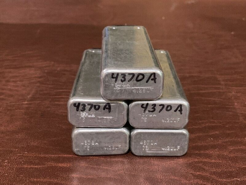 Western Electric 4370 Capacitors 4.28uf