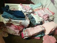 Baby girl 3-6 & 6-9 over 140 items