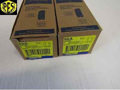 Square D Qo260 2 Pole 60 Amp 120240v Plug-in Qo Circuit Breaker