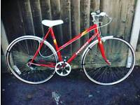PEUGEOT LADIES BIKE EXTRA SMALL 48CM RED