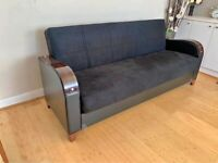 Brand new flat packed sofa cum bed 3 seater available cash on delivery