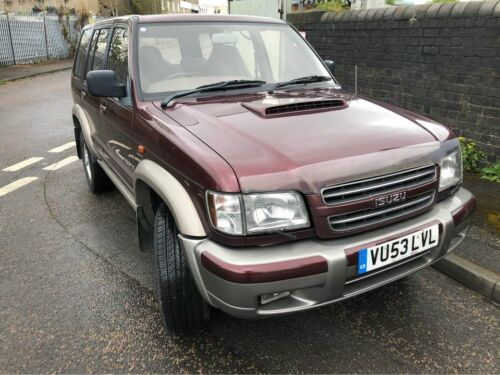Image of Isuzu Trooper 3L TD.  70000 miles, 2 previous  owners.