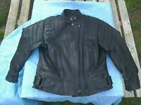 RICHA Leather Motorcycle Jacket Woman's Size 12.