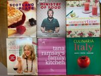 Cookery cook Books- various cooking books for sale £2/ each