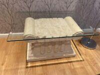 Roman style coffee table