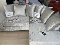 BRAND NEW DYLAN CORNER OR 3+2 SEATER SOFA SET AVAILABLE IN STOCK FAST DELVIERY