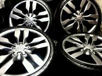 19 inch 5x112 genuine Audi A6 S6 5.2 V10 alloys wheels
