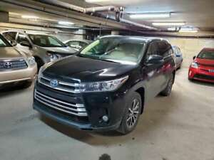 2017 Toyota Highlander Hybrid XLE AWD LEATHER SEATS, NAVIGATION,