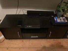 Wooden Designer TV, PS & Speakers Stand