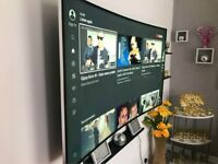 "65"" Samsung Smart TV - used"