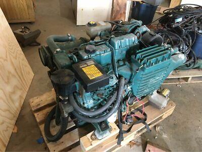 Volvo Penta Ad31d 130 Hp Turbocharged Marine Diesel Engine 4 Cylinder