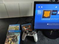 PS4 console with 3 games bundle Boxed cod FIFA Titanfall
