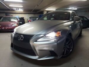 2015 Lexus IS 350 AWD F SPORT ---- NAVIGATION --- CUIR ---- TOIT