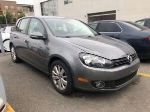 2012 Volkswagen Golf TDI COMFORTLINE TDI! JAMAIS ACCIDENTE!
