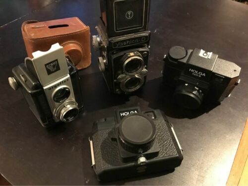 Yashica, Argoflex, Holga Camera Lot