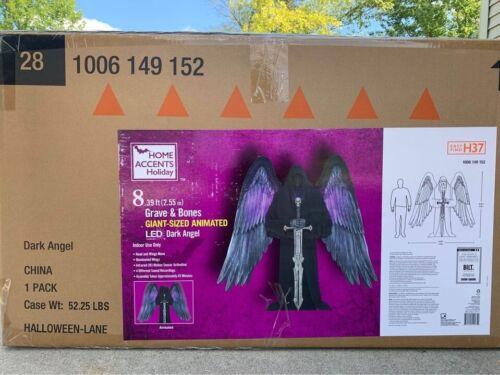 *HOT* New Dark Angel Animated Indoor 8ft Halloween Prop Decoration LED!  L@@K