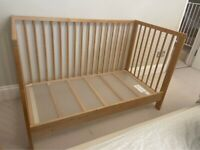 IKEA Gulliver Cot Bed in Natural - colour no longer sold