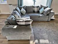 BRAND NEW VERONA CHESTERFIELD CORNER SOFA AND 3+2 SEATER SOFA AVAILABLE IN STOCK ORDER NOW