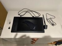 Wireless Huion Q11K Graphics Tablet - amazing condition, hardly used