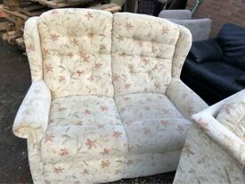 Immaculate HSL Compact 2 seater sofas - Can deliver