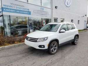 2017 Volkswagen Tiguan HIGHLINE CUIR, TOIT OUVRANT PANO, PUSH TO