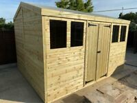 NEW garden sheds, workshops, outdoor office, gym, man cave, summerhouse, playhouse
