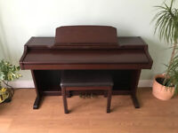 Technics SX-PX552 Digital Piano in mahogany full size 88 weighted keys 3 pedals