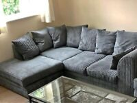 🔰💯 AFFORDABLE PRICES NEW DYLAN JUMBO CORD SOFA CORNER UNIT AND 3+2 SOFAS SET 💢