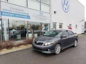 2009 Toyota Corolla S GROUPE ELECTRIQUE COMPLET, AIR/CLIM, SUPER