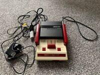 Famicom AV (Japanese NES) with RAM Adapter & FDSStick (258 games)