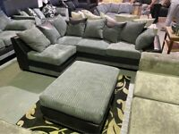 🔥SOFA ON SALE WITH ONE YEAR WARRENTY with FREE DELIVERY🔥BRAD NEW DINO CORNER SOFA