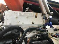 Isuzu Pisces 40hp Marine Diesel Engine with Transmission