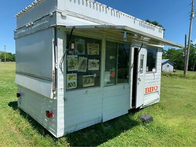 Used 8 X 13 Street Food Concession Trailer With Marquee For Sale In Arkansas