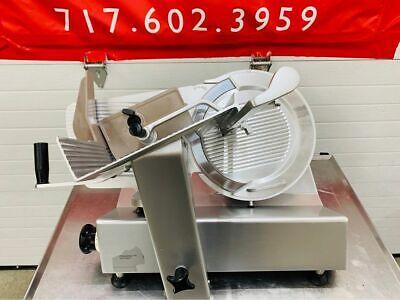 Bizerba Se12 Gravity Feed Manual Meat Cheese Deli Slicer 13 Blade Refurbished