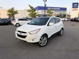 2012 Hyundai Tucson LIMITED AWD 4X4 SEULEMENT 57000KM!,TOIT PANO