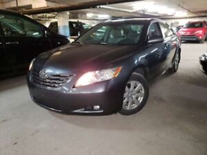 2007 Toyota Camry XLE V6 SEULEMENT  48512 KM CUIR+ TOIT +++