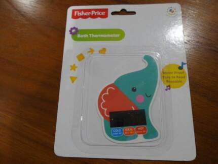Fisher Price baby bath thermometer