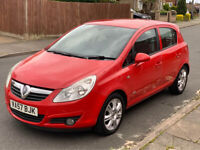 VAUXHALL CORSA 1.3 DIESEL MANUAL DESIGN LOW MILEAGE 60,000 ONLY LONG M.O.T EXCELLENT CONDITION 2008
