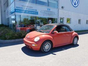 2005 Volkswagen New Beetle GLS  CONVERTIBLE, COMME NEUVE, IDEAL