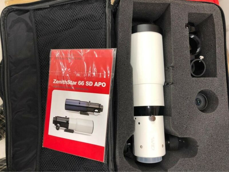William Optics Zenith-Star 66mm Doublet SD APO Refractor Telescope