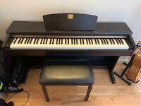 Yamaha CLP-320 Clavinova Digital Piano, 88 weighted keys, 3 pedals + Yamaha piano stool