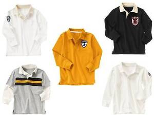 NEW-NWT-Boys-GYMBOREE-CRAZY-8-Polo-Rugby-Shirt-size-XS-4-S-5-6-M-7-8-L-10-12