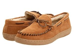 L-B-Evans-Mens-Moccasin-Slipper-HideAway-Morgan-Tan-FREE-SHIPPING